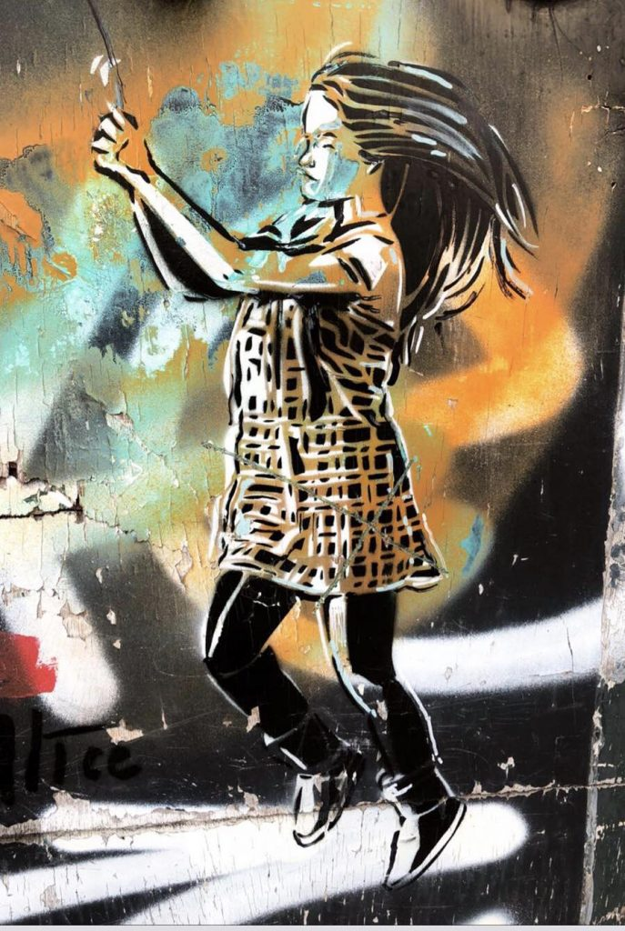 Grafit koji sam fotografisala u Jordanu, podsetio me je na Sofiju