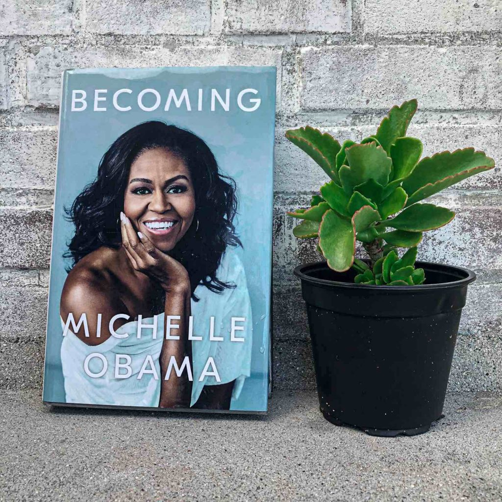 """""""Becoming"""" Michelle Obama:"""